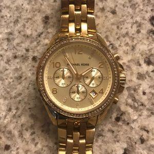 Michael Kors Women's Gold Watch
